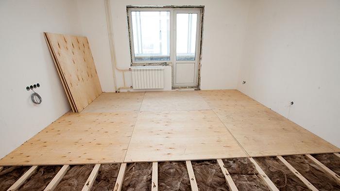 Как сделать полы в квартире 1 этаж